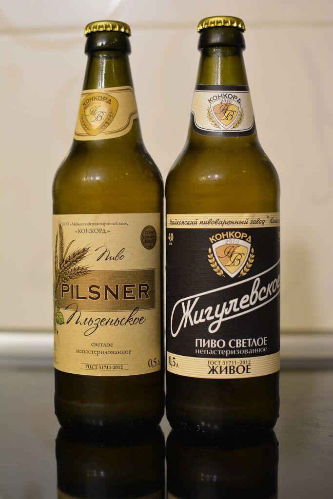 Пиво от Майкопского Пивзавода Конкорд
