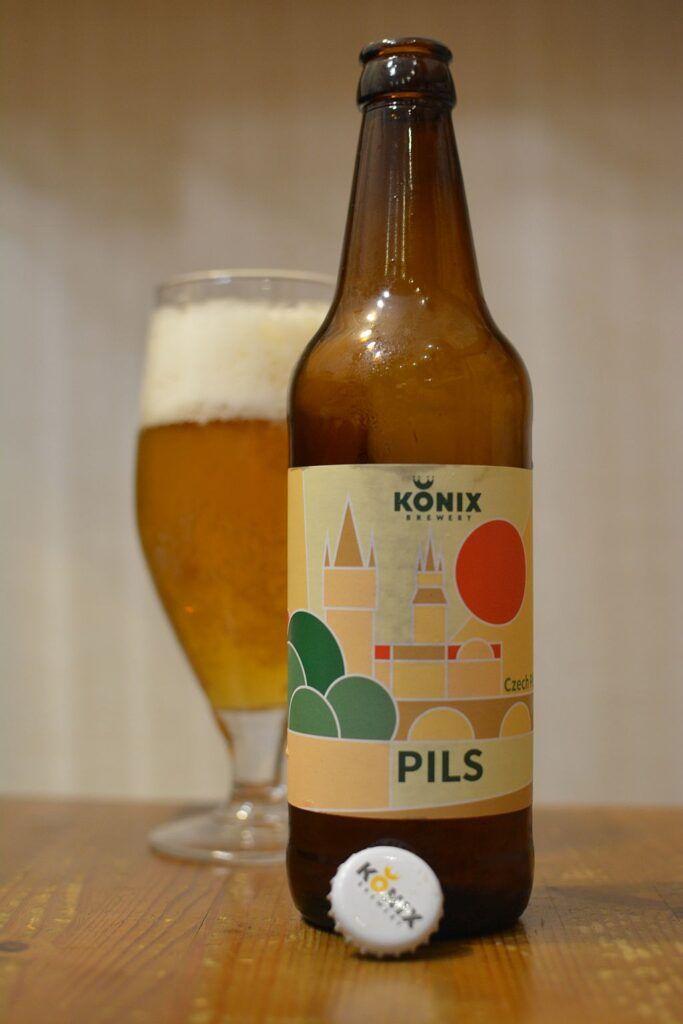Пиво Konix Czech Pilsner