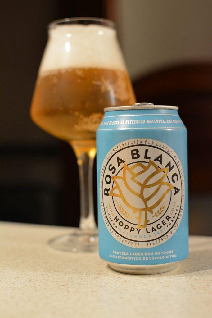 Пиво Rosa Blanca Hoppy Lager