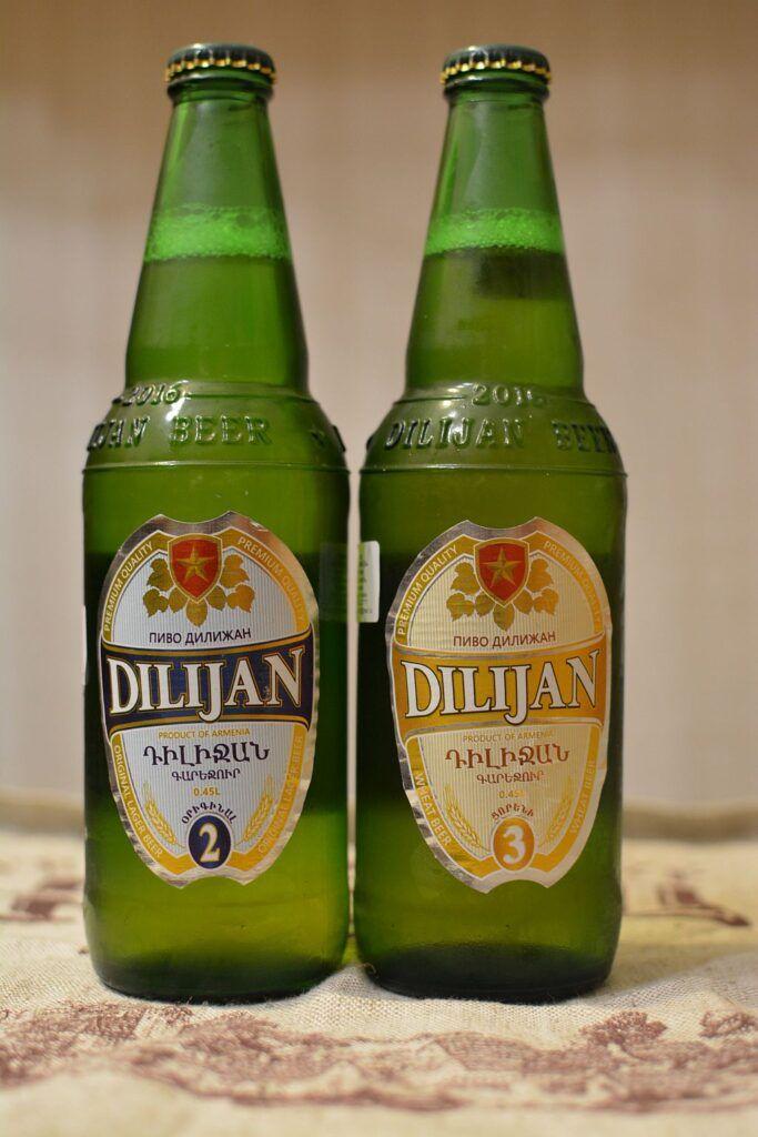 Пиво Dilijan #2 и #3