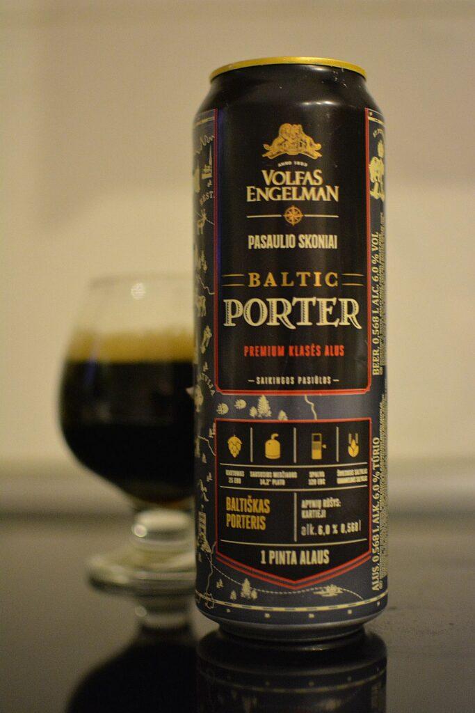 Пиво Volfas Engelman Baltic Porter