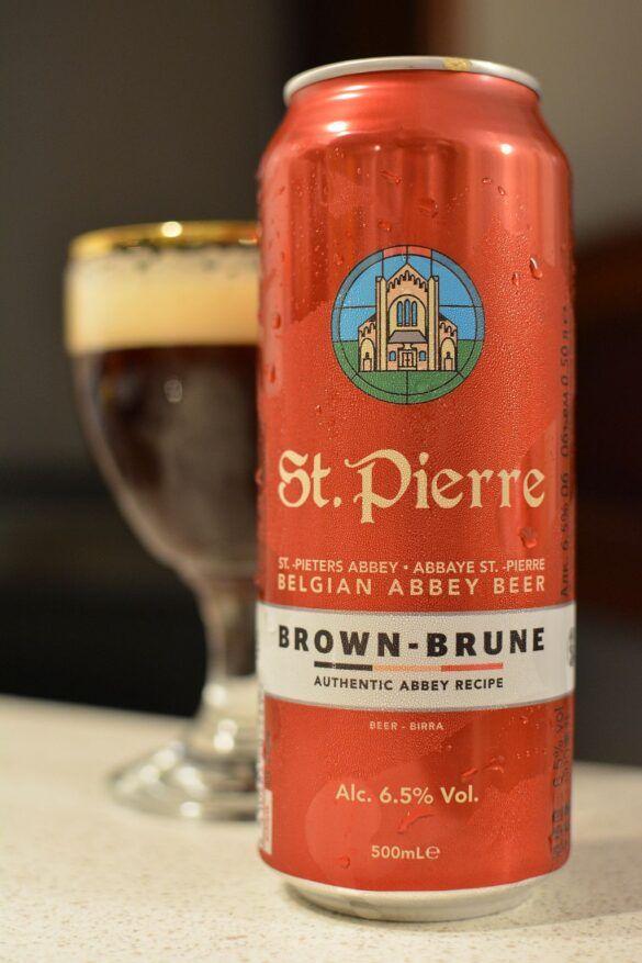 Пиво St.Pierre Brune