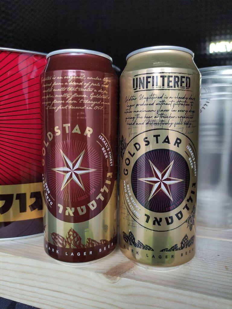 Пиво Goldstar Dark Lage и Unfiltered