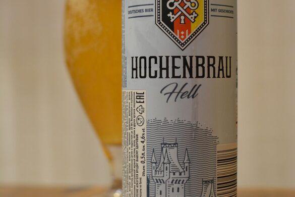 Hochenbrau Hell beer