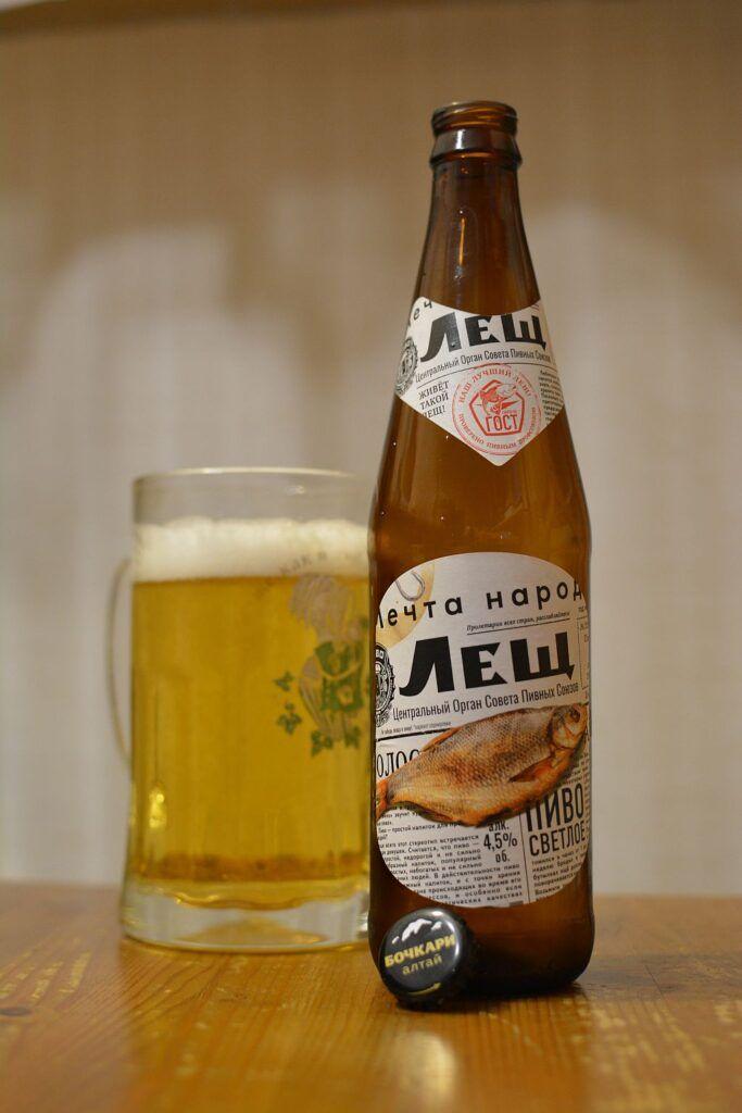 Пиво Лещ