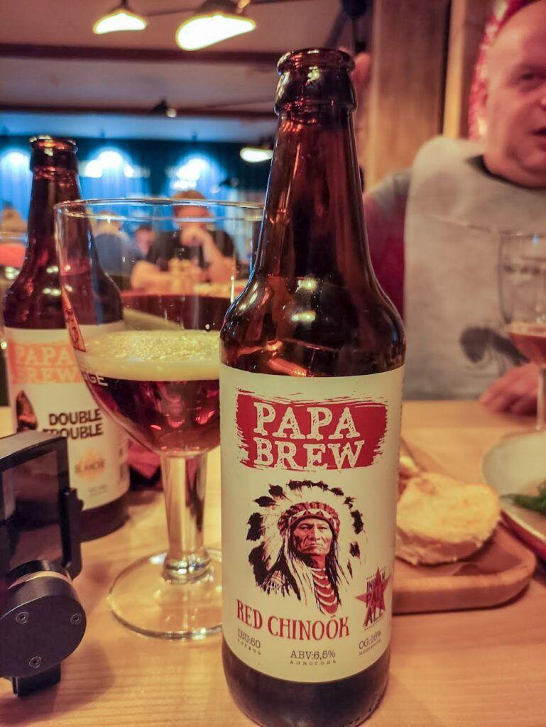 Пиво Papa Brew