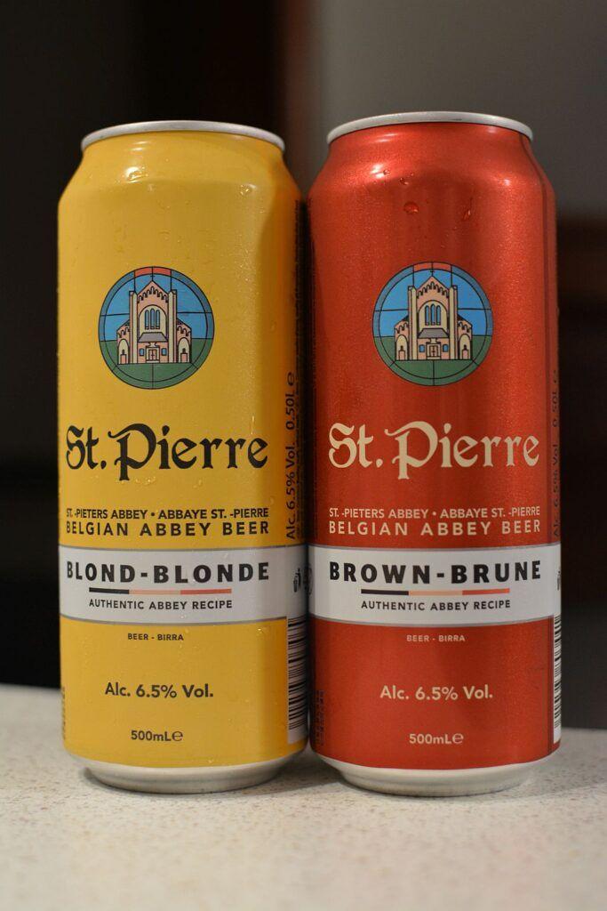 Пиво St.Pierre Blond и St. Pierre Brune
