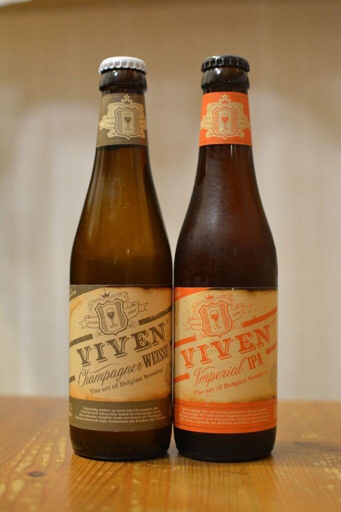 Пиво Viven - шампанский Weisse и Imperial IPA