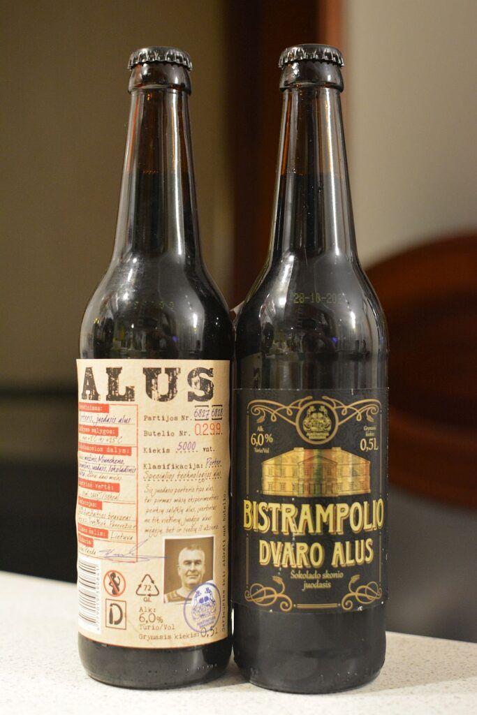 Beer from Lithuanian Aukštaitijos Bravorai