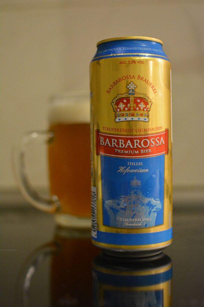 Пиво Barbarossa Helles Hefeweize