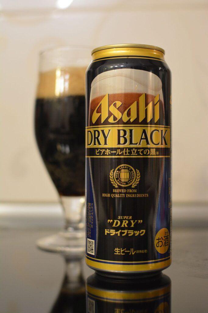 Asahi Dry Black Beer