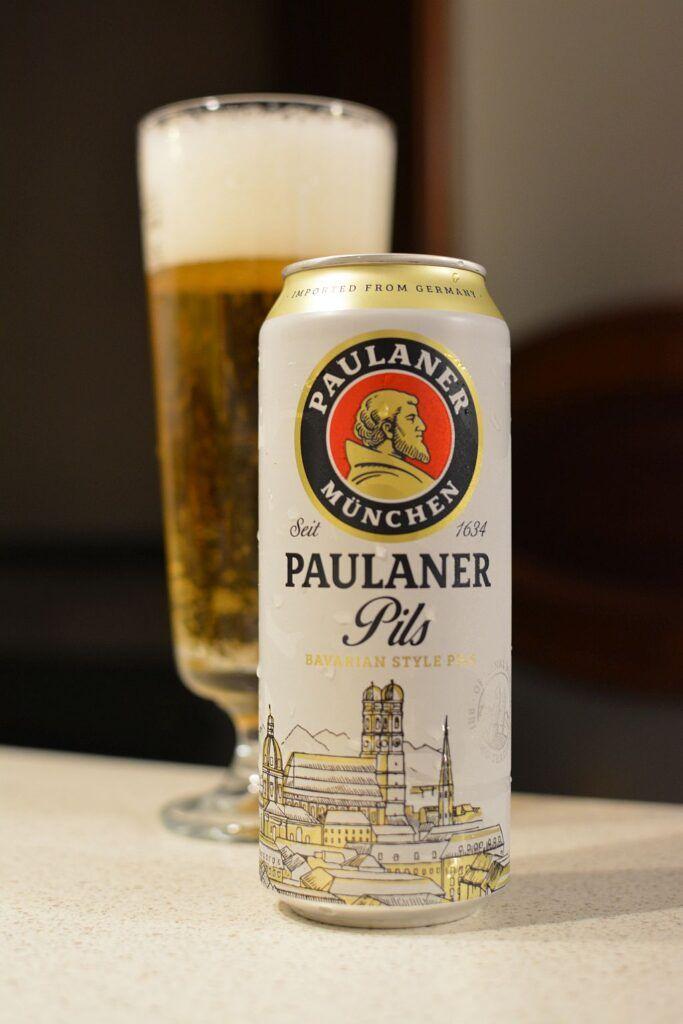 Paulaner Pils beer