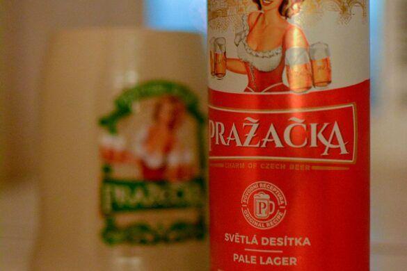 Prazacka Svetla Desitka Beer